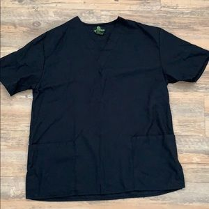 Other - Black scrub top
